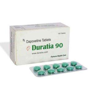 Generisk DAPOXETINE til salg i Danmark: Duratia 90 mg i online ED-piller shop t-art21.com