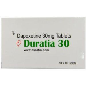 Generisk DAPOXETINE til salg i Danmark: Duratia 30 mg i online ED-piller shop t-art21.com