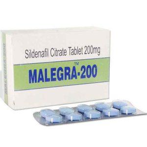 Generisk SILDENAFIL til salg i Danmark: Malegra 200 mg i online ED-piller shop t-art21.com