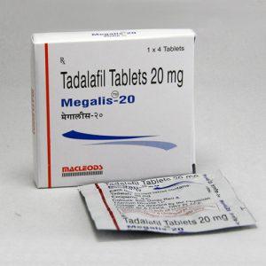 Generisk TADALAFIL til salg i Danmark: Megalis 20 mg i online ED-piller shop t-art21.com