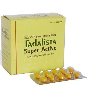 Generisk TADALAFIL til salg i Danmark: Tadalista Super Active i online ED-piller shop t-art21.com