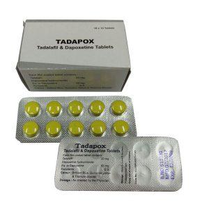 Generisk DAPOXETINE til salg i Danmark: Tadapox i online ED-piller shop t-art21.com