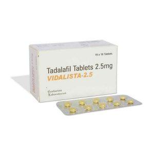 Generisk TADALAFIL til salg i Danmark: Vidalista 2.5 mg i online ED-piller shop t-art21.com