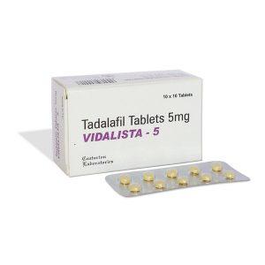 Generisk TADALAFIL til salg i Danmark: Vidalista 5 mg i online ED-piller shop t-art21.com