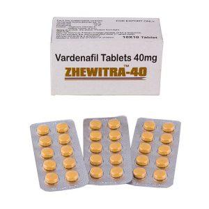 Generisk VARDENAFIL til salg i Danmark: Zhewitra 40 mg i online ED-piller shop t-art21.com